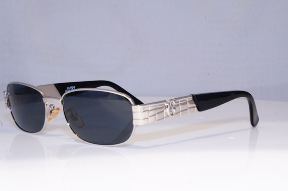 GIANNI VERSACE Mens Womens Vintage Designer Sunglasses Silver Mod S21 26M  19399