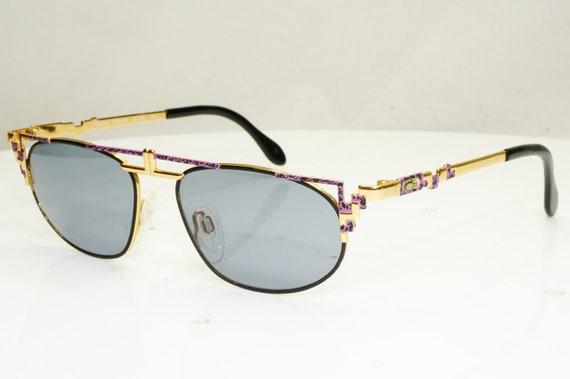 Authentic Cazal Mens Vintage Sunglasses Gold 247 4