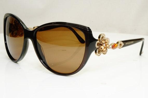 Authentic Bvlgari Womens Vintage Sunglasses Crysta