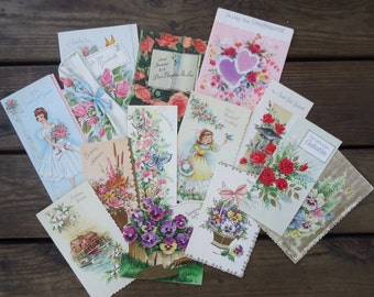 Vintage Greeting Cards  (lot of 14)