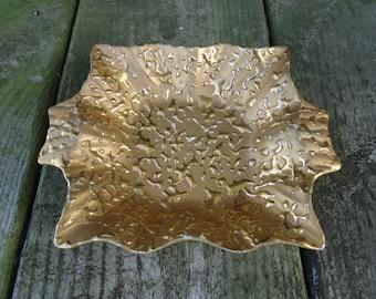 Weeping Gold Dish
