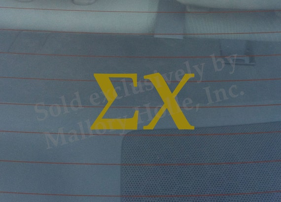 Officially Licensed Theta Xi 6 x 3 Window Decal Blue