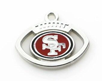 San Francisco 49ers charm- QTY: 1