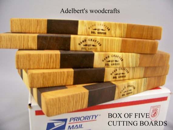 Cutting Boards. Special Offer Box Of 5 Cutting Boards Save. Shipped by priority mail 2 to 3 days delivery.