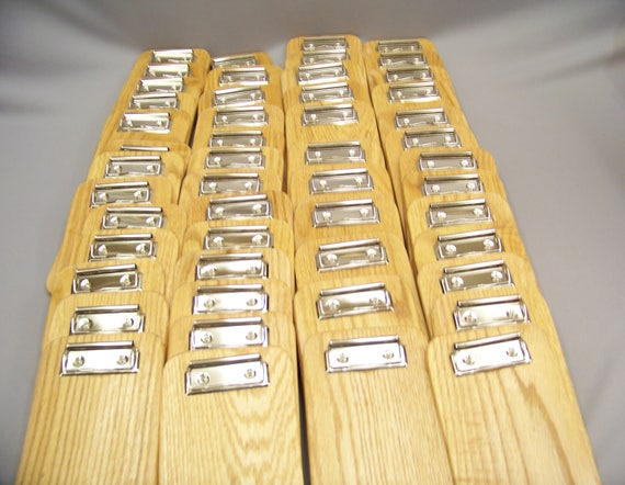 Bulk 50 Wooden Clipboards, Restaurant Check Presenter, Memo Clipboards. Made in USA. Shipprd by Priority Mail.