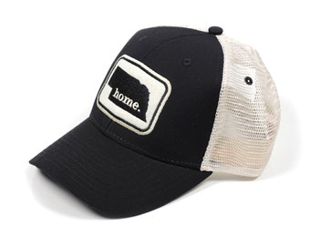 f9693c41920 Nebraska Home State Apparel Hat  Ouray Soft Mesh Cap in Black