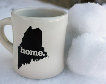 Maine home. Ceramic Coffee Mug