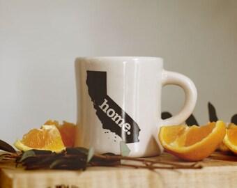 California home. Ceramic Coffee Mug