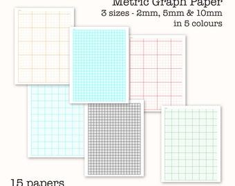 Graph paper | Etsy