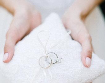 Ring Bearer Pillow, Wedding Ring Pillow, Wedding Pillow, Ring Bearer, Lace Ring Pillow, Rustic Wedding, Ring Cushion, Ring Box