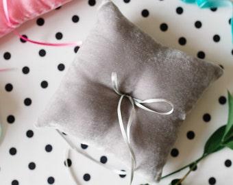 Ring Bearer Pillow, Ring Pillow, Wedding Ring Pillow, Ring Bearer, Velvet Ring Pillow, Rustic Wedding, Ring Cushion
