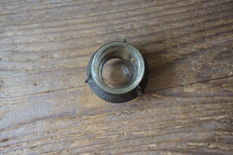Vintage INK bottle for ink Pen with NIB  Made in USSR  Ink holder  Soviet vintage