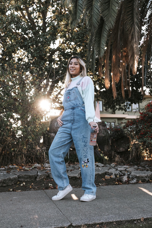 Vintage Overalls & Jumpsuits Vintage Mickey  Co Denim Overalls  Size Xs $30.00 AT vintagedancer.com