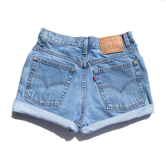 Vintage 512 High Waisted Levi Shorts