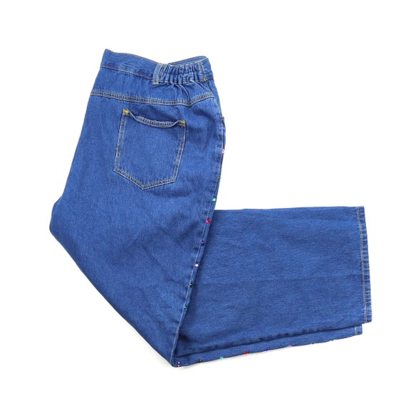 Vintage Plus Size High Waisted Jeans