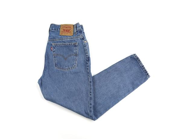 Vintage Levis 550 Medium Wash High Waisted Jeans W