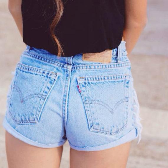 vintage levi shorts cheap