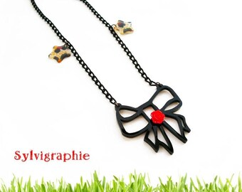 Knot necklace and Star