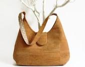 Natural Cork Handmade Bag, Eco Friendly Handbag, Gift Idea for Her