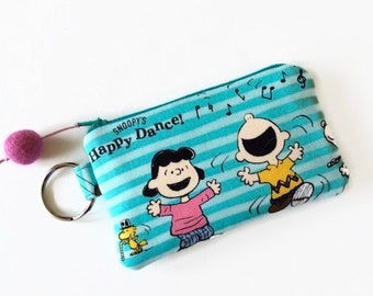 Peanuts Gang Accessory BagToteTravel BagMake Up Bag