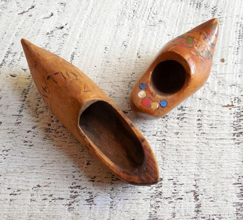 Saucy Wooden Shoes Holland Michigan Spring Tulip Festival Windmill Island Souvenir Clogs 0819