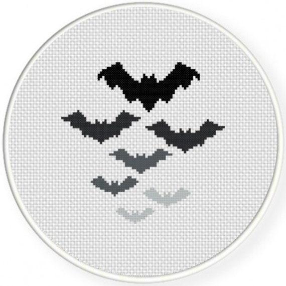 Murciélagos decoraciones hechas a mano sin enmarcar cruz   Etsy