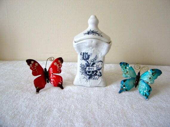 D licieux petit delfts bleu et blanc entrep t de sel de etsy - Entrepot ceramique decor ...