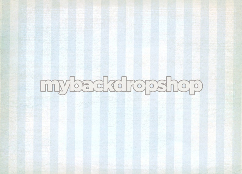 7ft x 5ft Light Blue Stripe Photography Backdrop Item 1947 Exclusive Design Boys Background for Photos