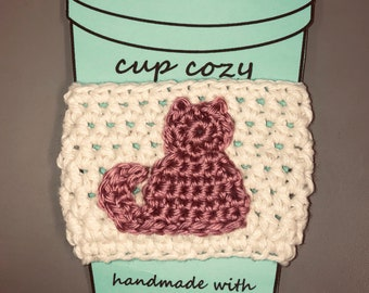 Cup Cozy//Cup Cozie//Cup Sleeve