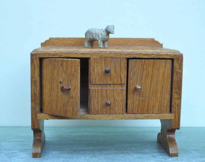 Twiggs Dolls House Furniture, Miniature Wooden Dining Room Sideboard