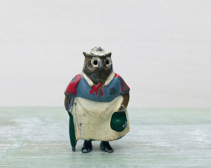 Britains Miniature Lead Cococub Granny Owl Vintage Cadbury Advertising