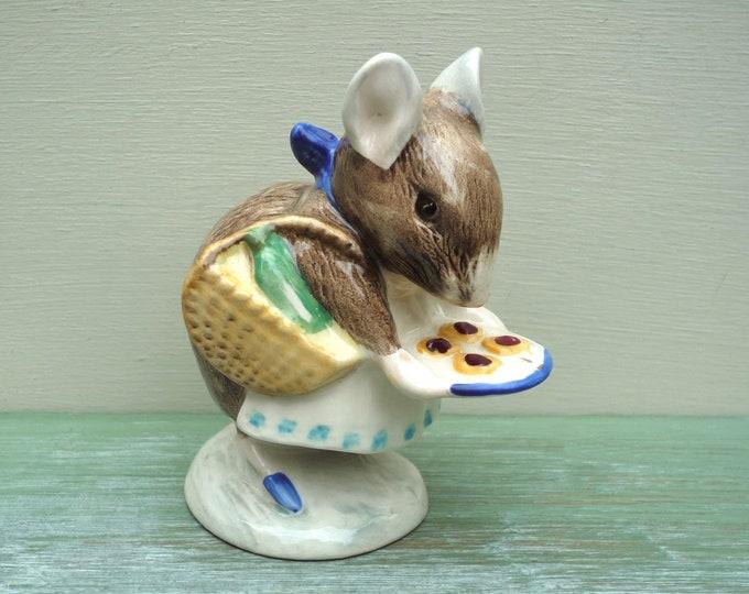 Beatrix Potter Royal Albert Appley Dapply Mouse Porcelain Figurine