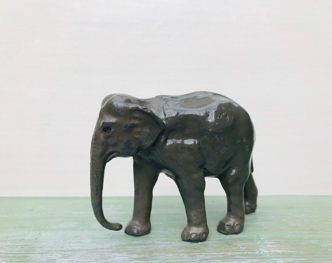 Britain's Miniature Lead Zoo, Indian Elephant 952 Wild Animal Figure