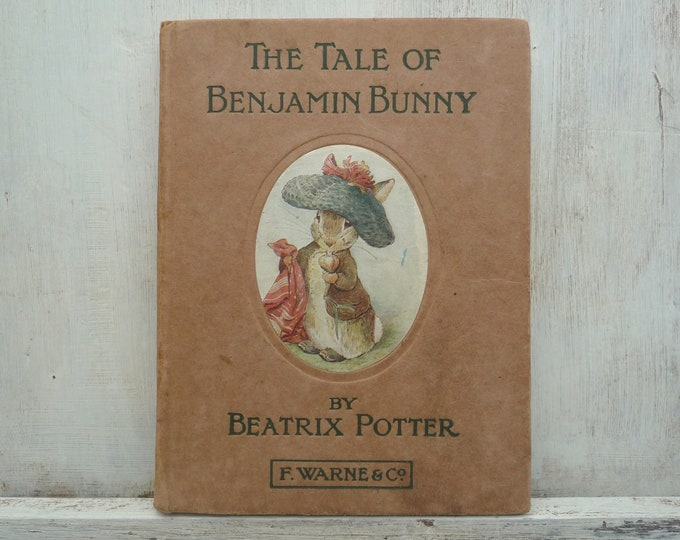 Beatrix Potter, The Tale Of Benjamin Bunny, Early Edition F Warne & Co