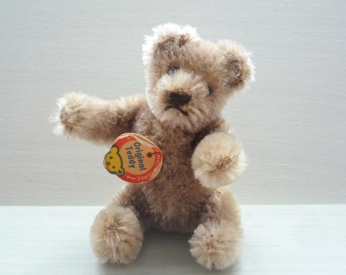 """Vintage Steiff Original Teddy Bear 5311-01, 3"""" Miniature Mohair Toy"""