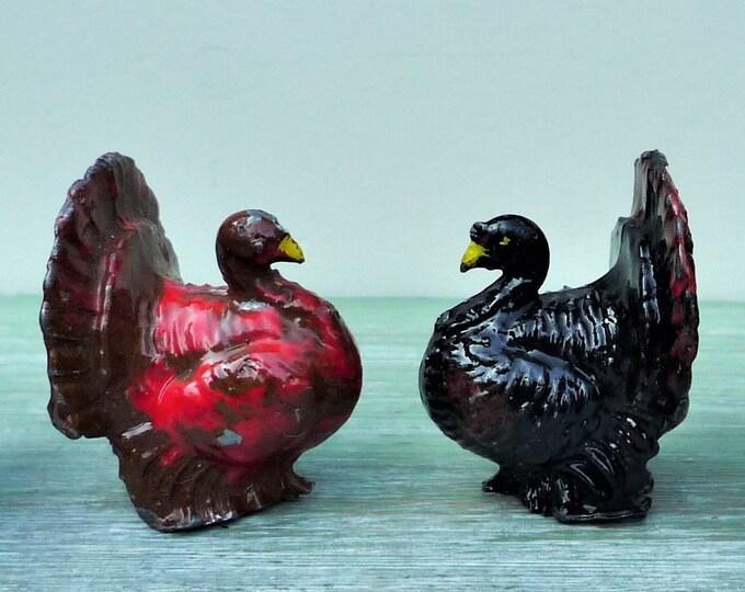 Benbros Lead Farm Miniature Turkey, Vintage Britains Era Animal Figure