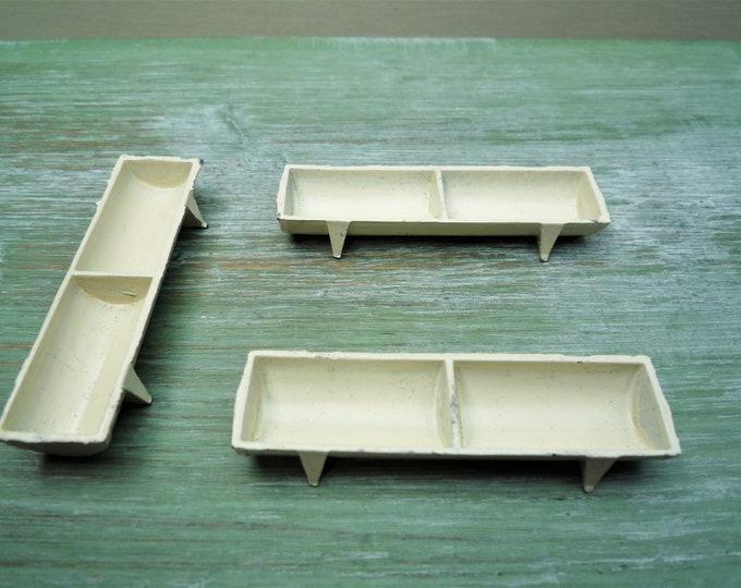 Flyde Miniature Lead Feeding Trough For Britains Era Model Farm