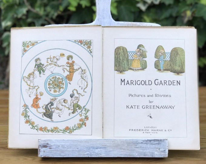 Kate Greenaway Marigold Garden, Frederick Warne & Co c 1900 Edition