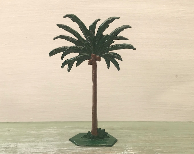 Grendon Valley Toys Vintage Miniature Lead Palm Tree, Britains Era Zoo