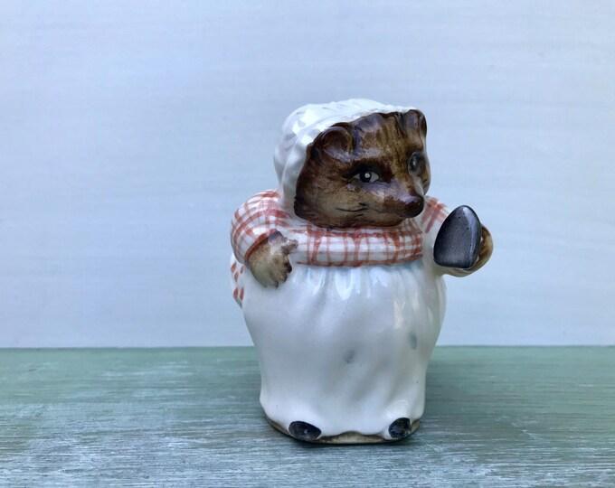 Beatrix Potter Beswick Mrs Tiggy Winkle Figure, Vintage Hedgehog Ornament