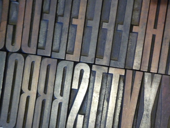 UPPERCASE Italic A Printing Type LETTER A Letterpress Printers Block CAPITAL