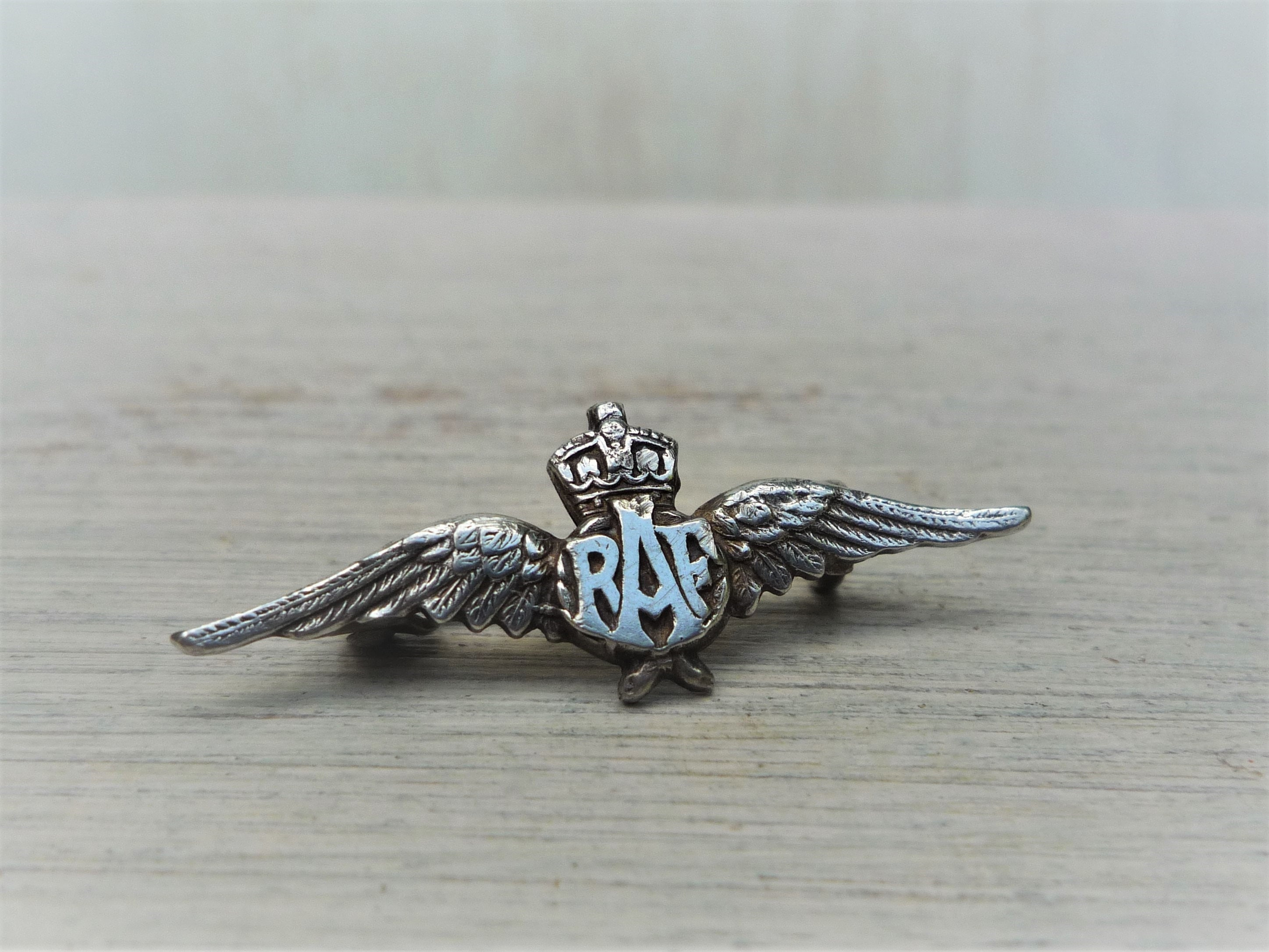 RAF Silver Brooch by Charles Horner, Royal Air Force Pilots