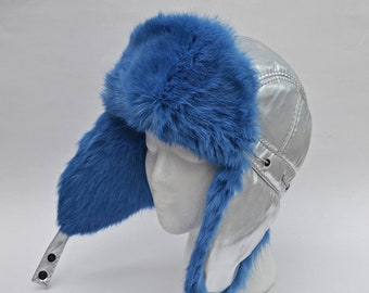f5bac23b909e2 Silver Metallic Hat