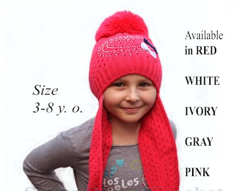 0d4a8074880 Long ear flap hat