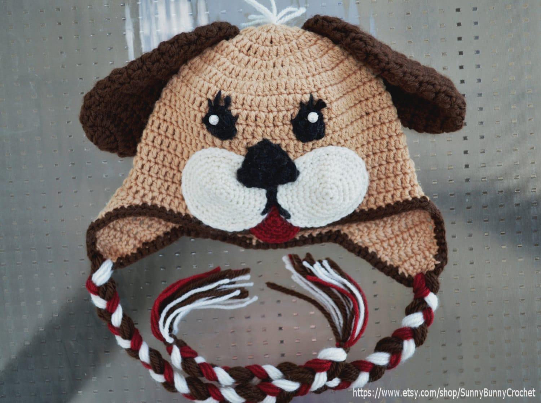 Crochet Hat Pattern Baby Animal Hat Puppy Hat Pattern Etsy