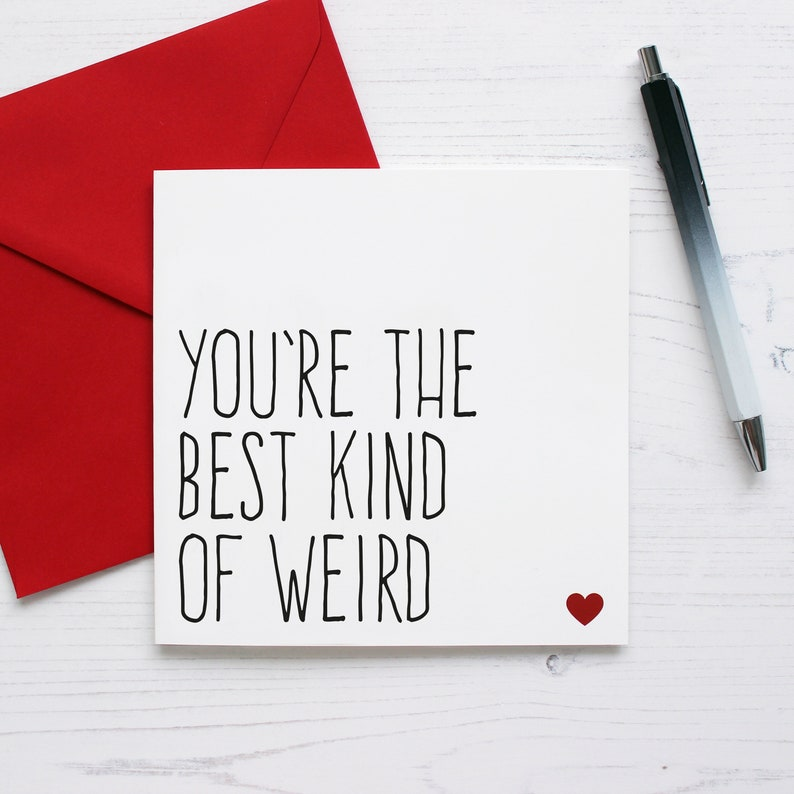 Funny valentine card for boyfriend valentines card funny image 0