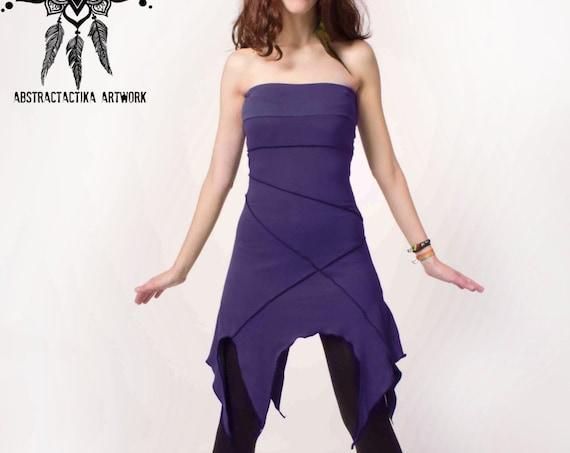 Khepri dress. Faery dress, elven clothing, elven mini dress, fantasy dress, pixie dress, tribal dress, fairy tale, elf dress, gothic dress