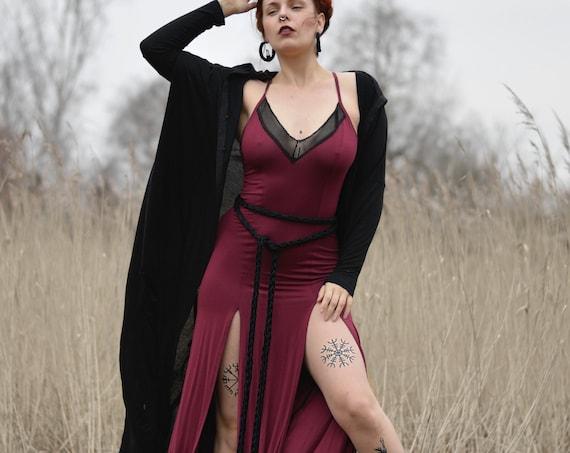 Strap maxi long dress. Dark blue boho long dress. Gothic long dress. Festival maxi dress. Maxi blue dress. V neck long dress, Wedding
