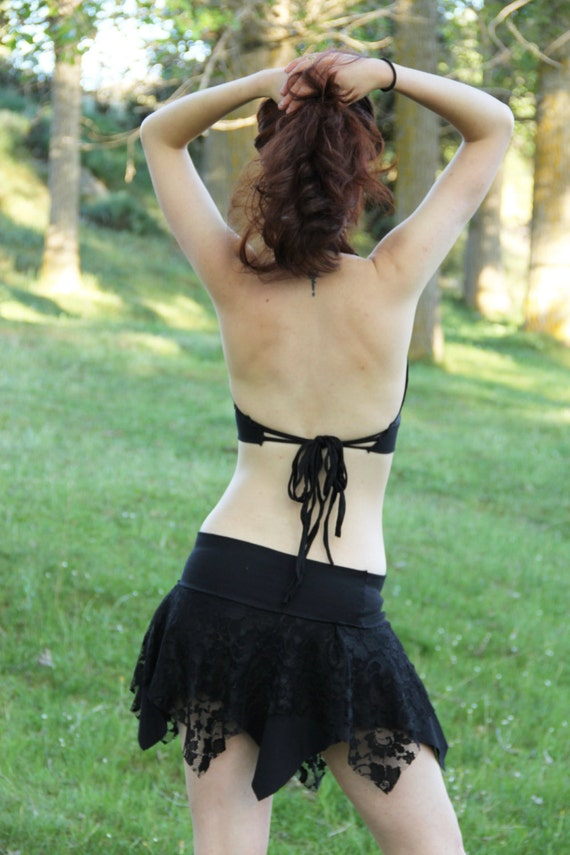Faery lace tutu skirt. Lace skirt. Pixie lace skirt. Bohemian lace skirt. Romantic skirt. Mini lace skirt. Boho mini skirt. Festival skirt.