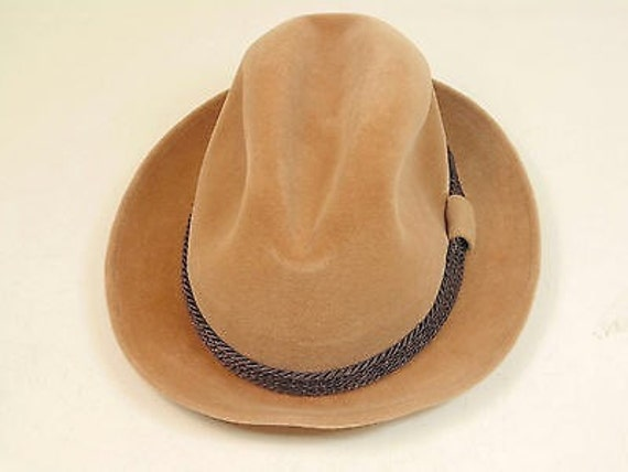 Dobbs Fifth Avenue Hunter Mountain Fedora Hat Size 6 7 8  fef2a3c03e3